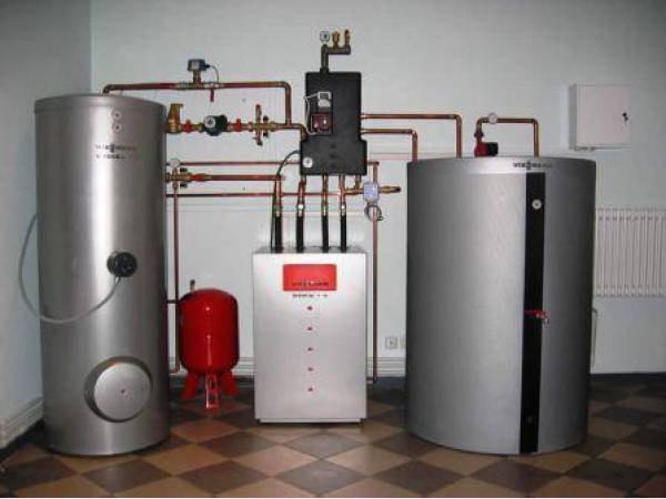 Газовый котел отопления напольный
