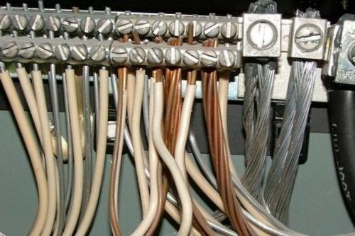 Разводка электропроводов