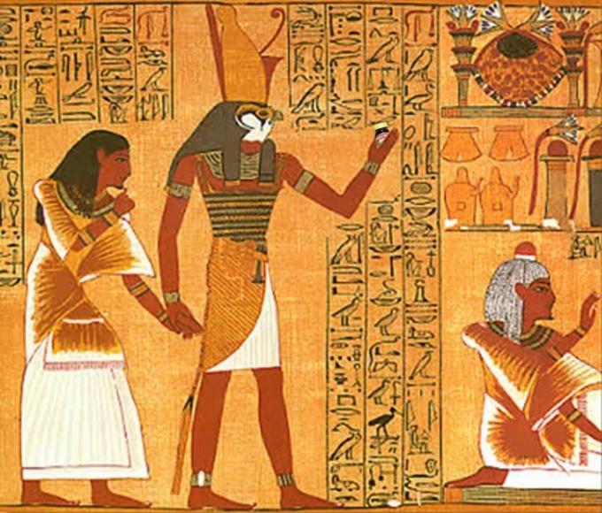 Письменность в Древнем Египте