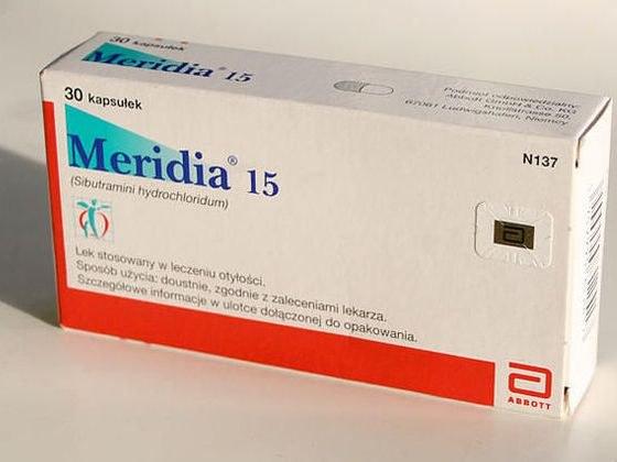 «Меридиа»: инструкция по применению