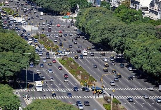 Avenida 9 de Julio, Буэнос-Айрес, Аргентина