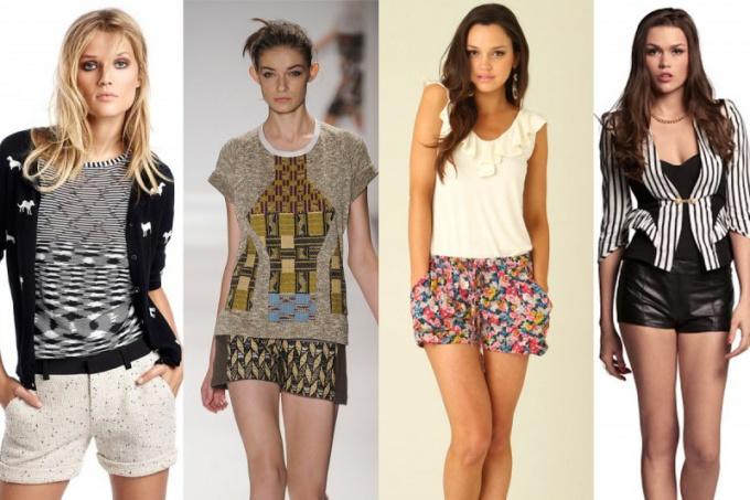 Какие цвета и фасоны шорт будут в моде в 2014 году