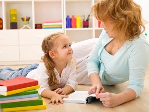 Как научить маленького ребенка говорить