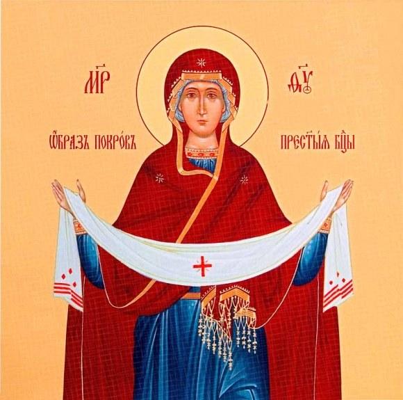 Самым значительным праздником октября является Покров Богородицы