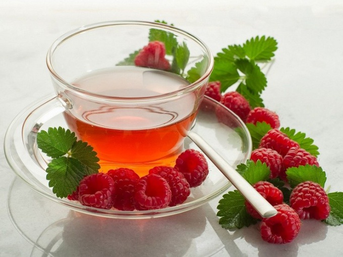 When to harvest raspberry leaves and black currant tea