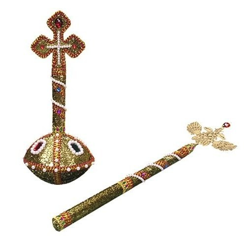 What is the significance of the scepter and Orb - the symbols of Imperial power