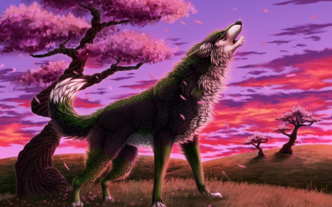 Почему собаки воют на полную луну