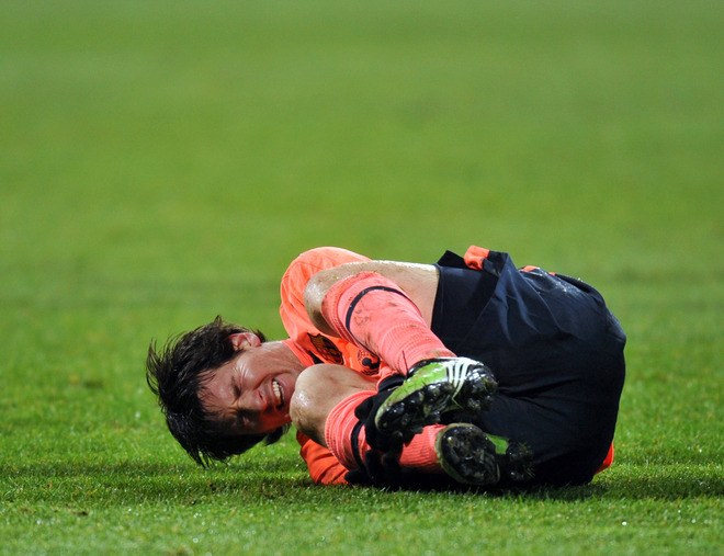 Another injury of Lionel Messi could leave it outside Barcelona
