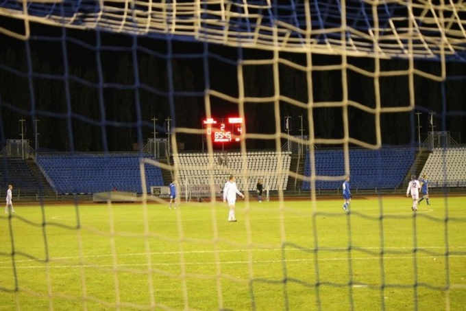 Гавное в футболе — счет на табло