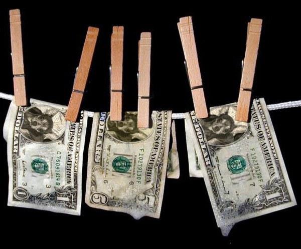 """Что означает выражение """"отмывать деньги"""""""