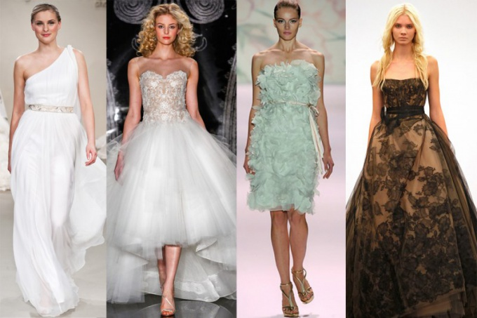 How to choose wedding dress and shoes