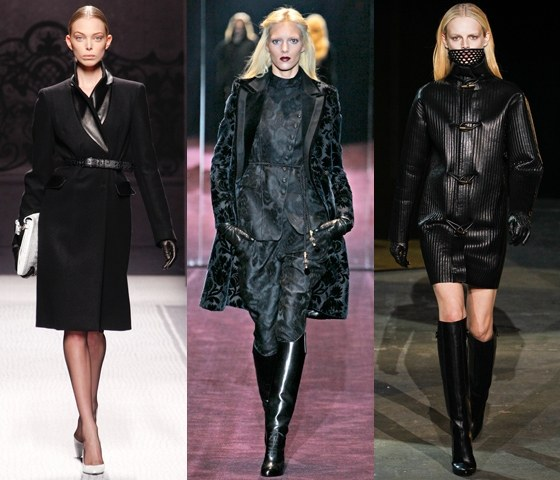 Когда появилась мода на черный цвет