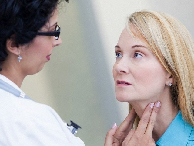 How dangerous is a cyst of the thyroid gland