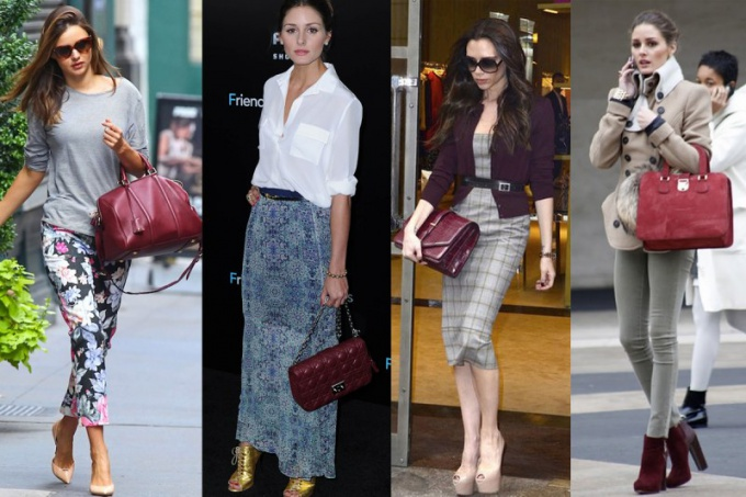 What to wear with Burgundy bag
