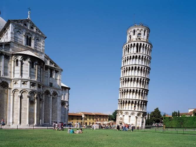 Упадет ли Пизанская башня?