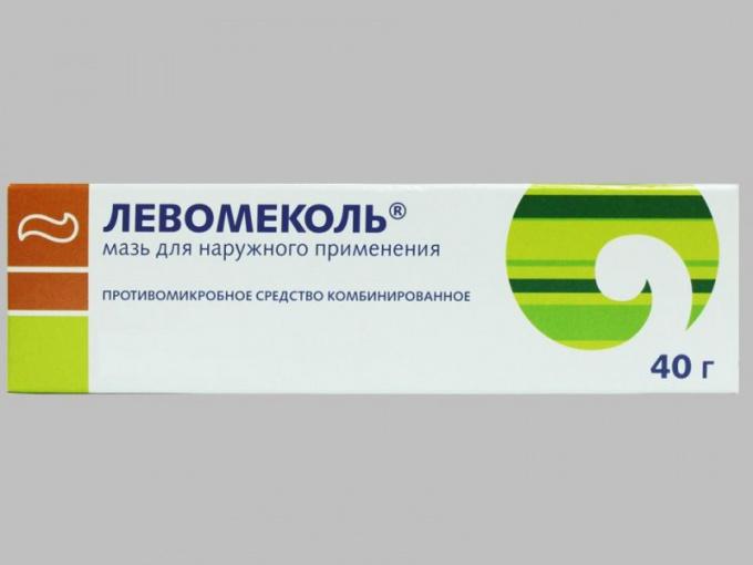 Препарат «Левомеколь»