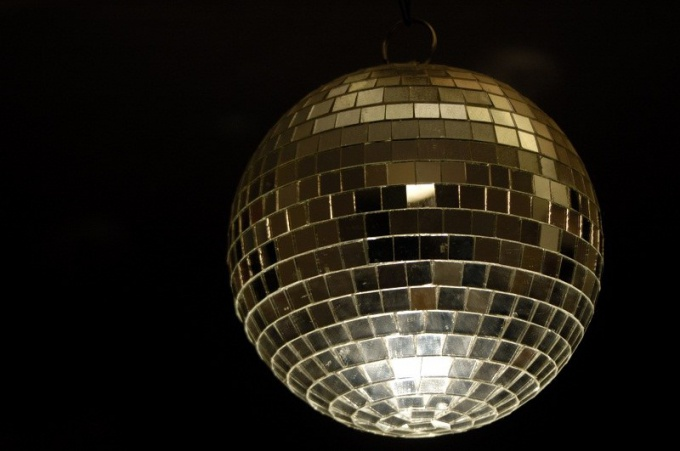 How to make a mirror ball for disco