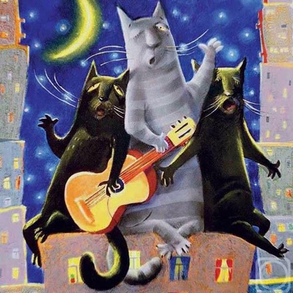 """В марте ночные кошачьи """"концерты"""" никому не дают покоя"""
