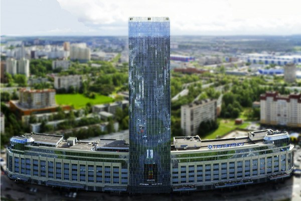 Какое здание самое высокое в Санкт-Петербурге