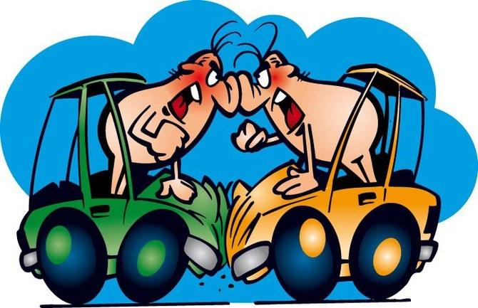 Конфликт водителей