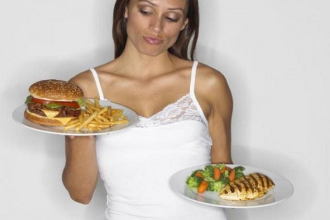 как составить свой рацион питания для похудения