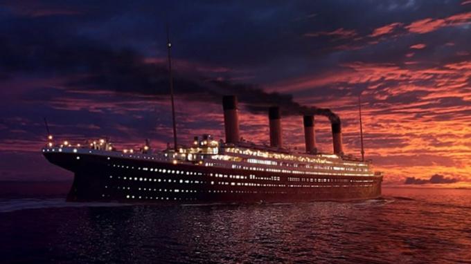 Как произошло крушение Титаника