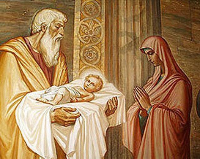 Праздник Сретение очищению Девы Марии и принесению во храм Иисуса из Назарета