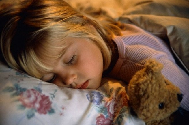 Why the child twitches in sleep