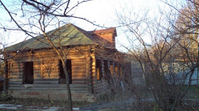 Как разобрать бревенчатый дом