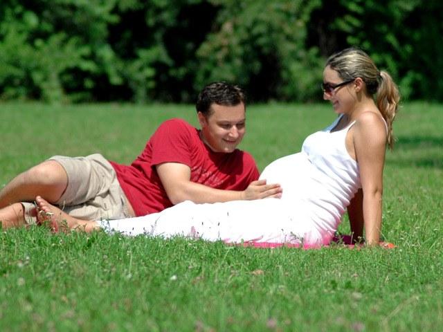 Когда опускается живот у беременных