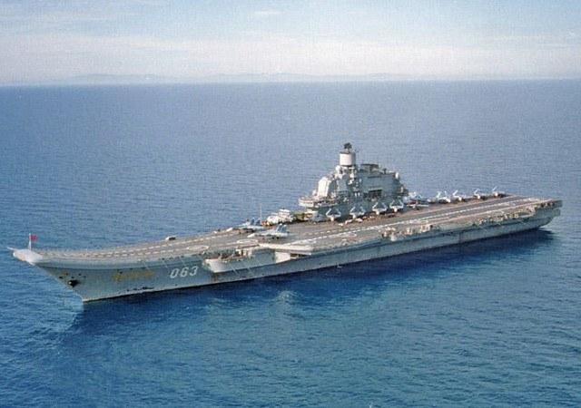 Адмирал Кузнецов - крупнейший военный корабль России