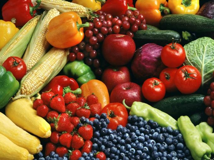 Спрос на продукты летом