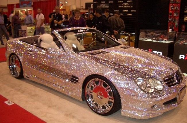 Эксклюзивный экземпляр Mercedes с откидным верхом