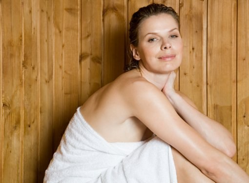 Is it possible to visit a bath or sauna nursing mother?