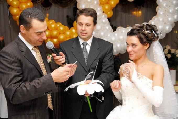 Нужно заранее продумать ход свадебного торжества