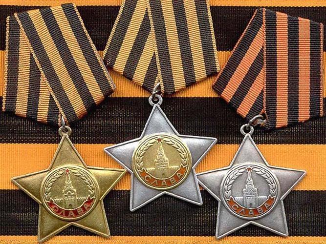 Когда появился Орден Славы и кого им награждают