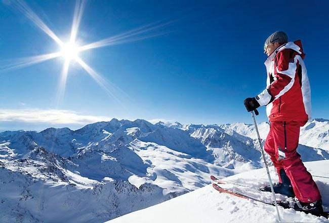 Как научиться кататься на горных лыжах