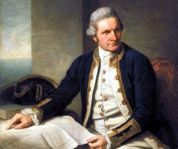 Captain James cook, Navigator and cartographer