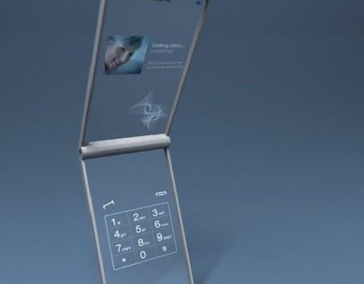 Существуют ли прозрачные мобильные телефоны