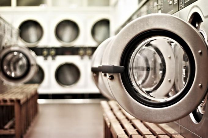 Много разных стиральных машинок