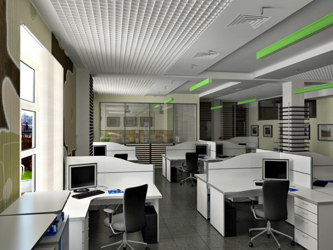 The norms of a temperature mode for office space