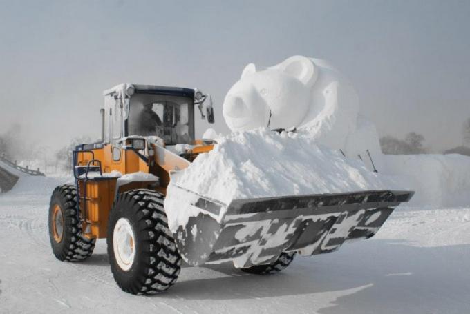 Снег - и красота и бедствие