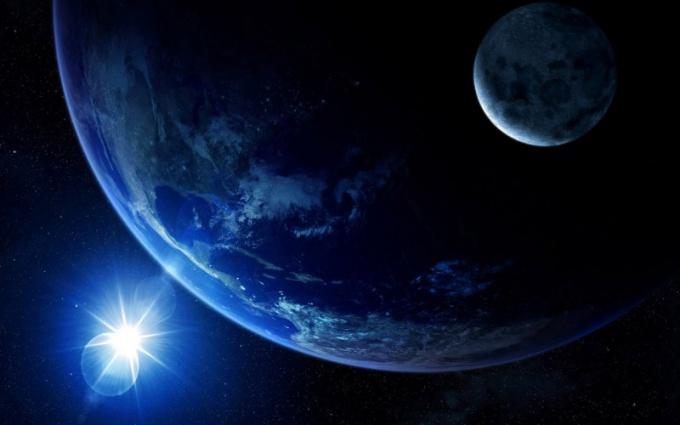 С какой скоростью Земля вращается вокруг своей оси