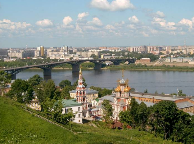 Нижний Новгород летом