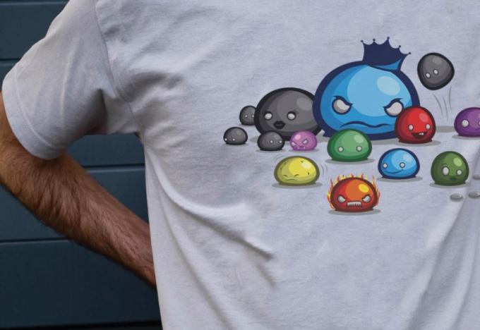 Как заняться печатью на футболках