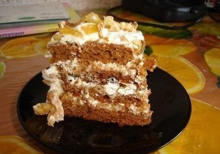 """Как приготовить торт """"Трухлявый пень"""""""