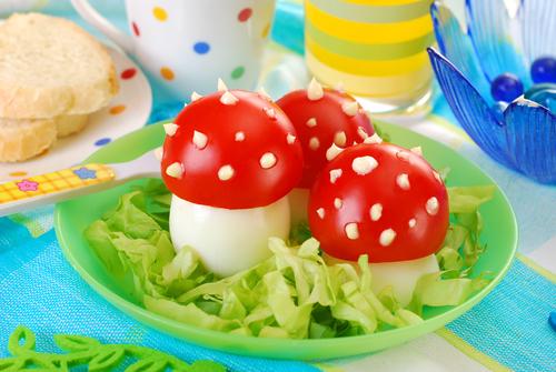 Как сделать салат мухоморчики