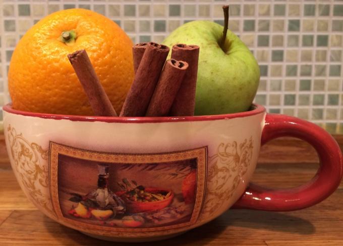 Как сделать чай «Christmas mystery»