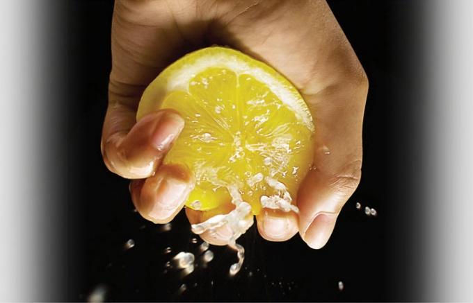 Лимон для рук и ногтей
