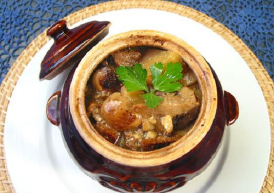 рагу из рыбного филе